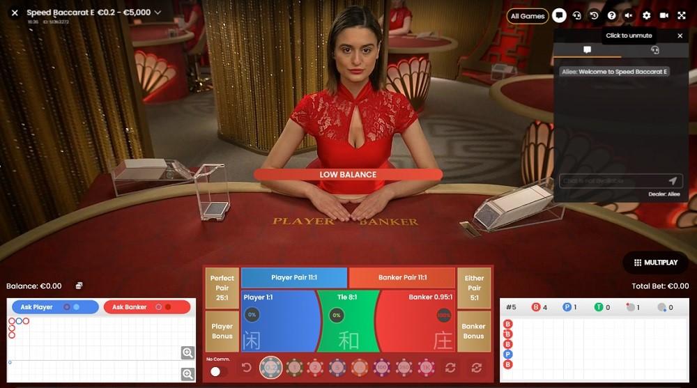 Casino Sieger Live Baccarat