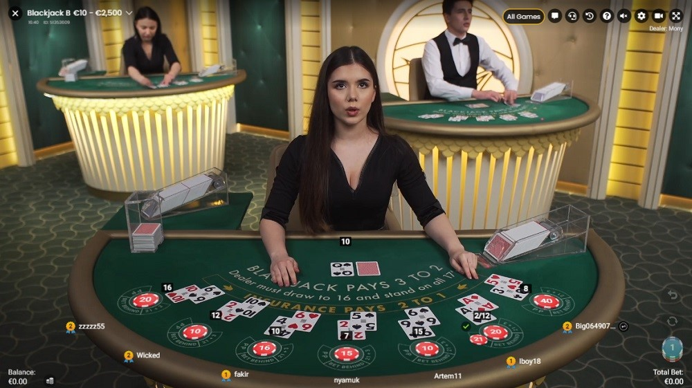 Casino Sieger Live Blackjack