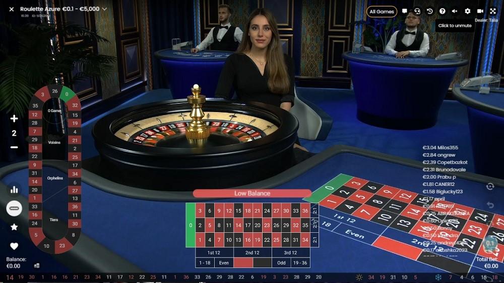 Casino Sieger Live Roulette