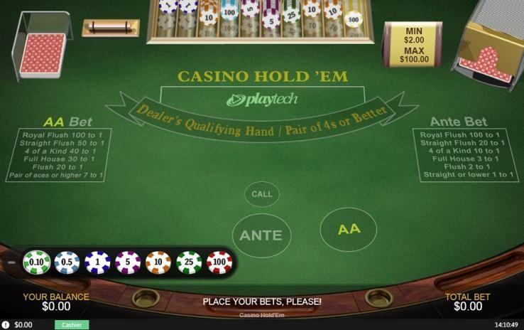 Casino Tropez Automated Poker