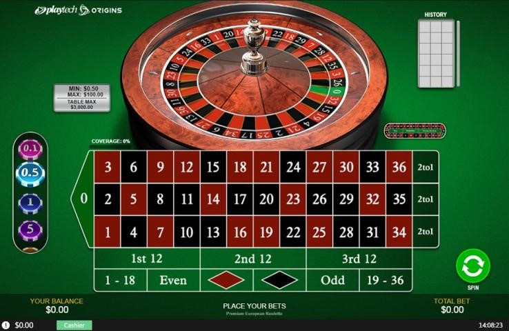 Casino Tropez Automated Roulette