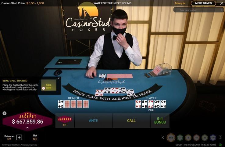 Casino Tropez Live Poker