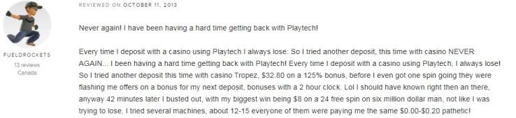 Casino Tropez Player Review 3