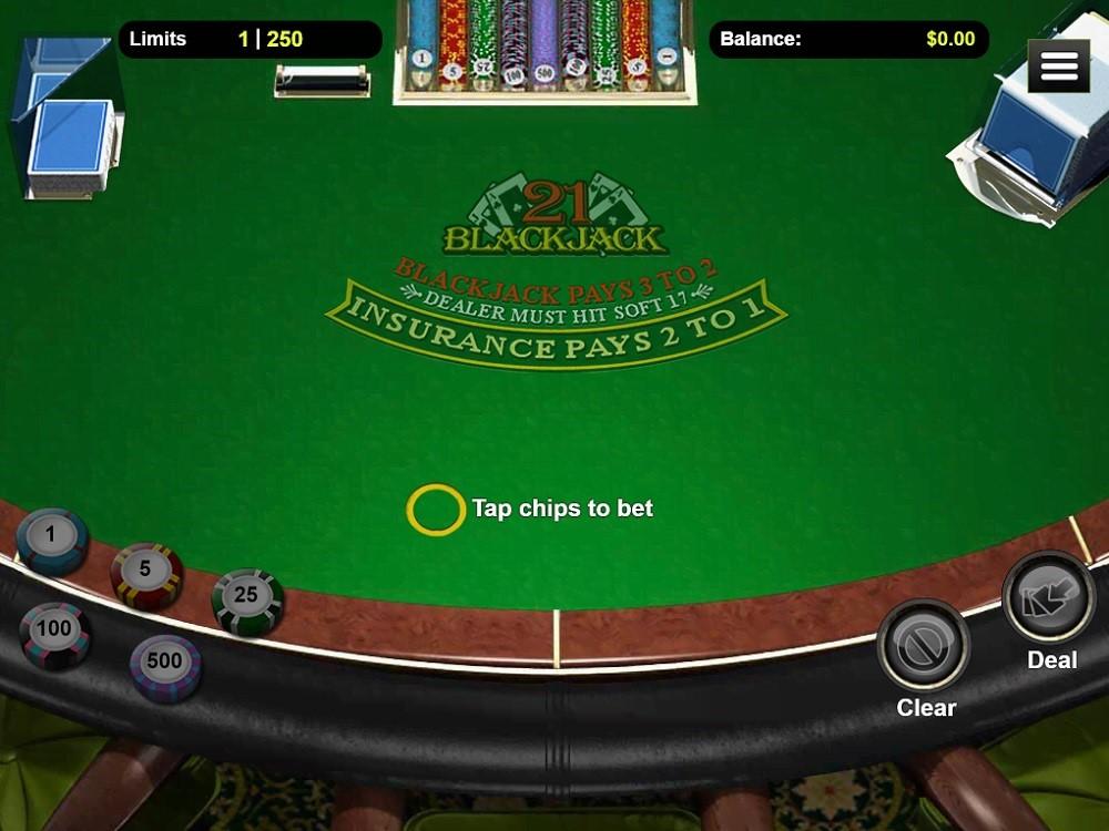 Cherry Gold Casino Automated Blackjack