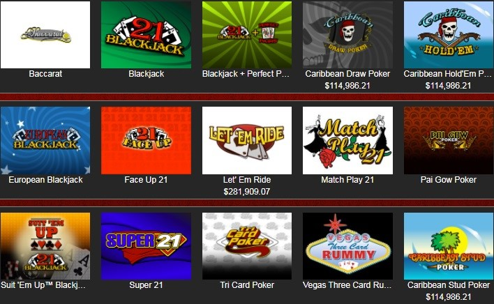 Cherry Gold Casino Automated Casino Table Games