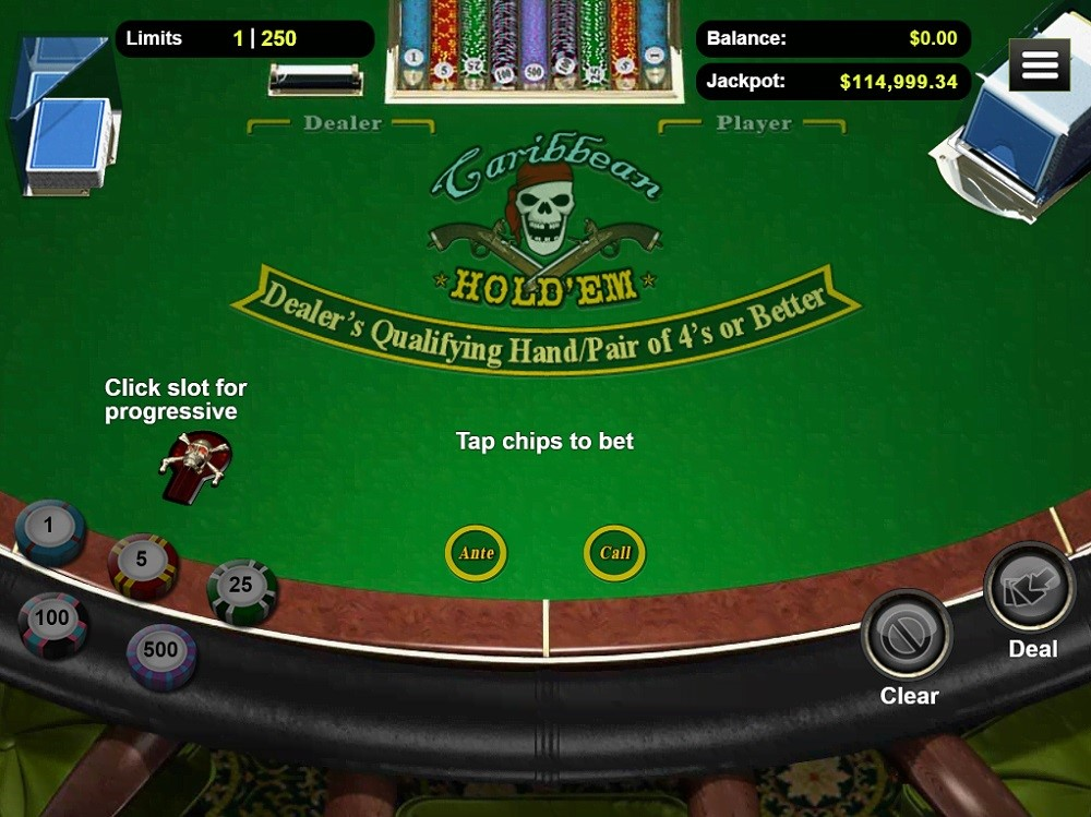 Cherry Gold Casino Automated Poker