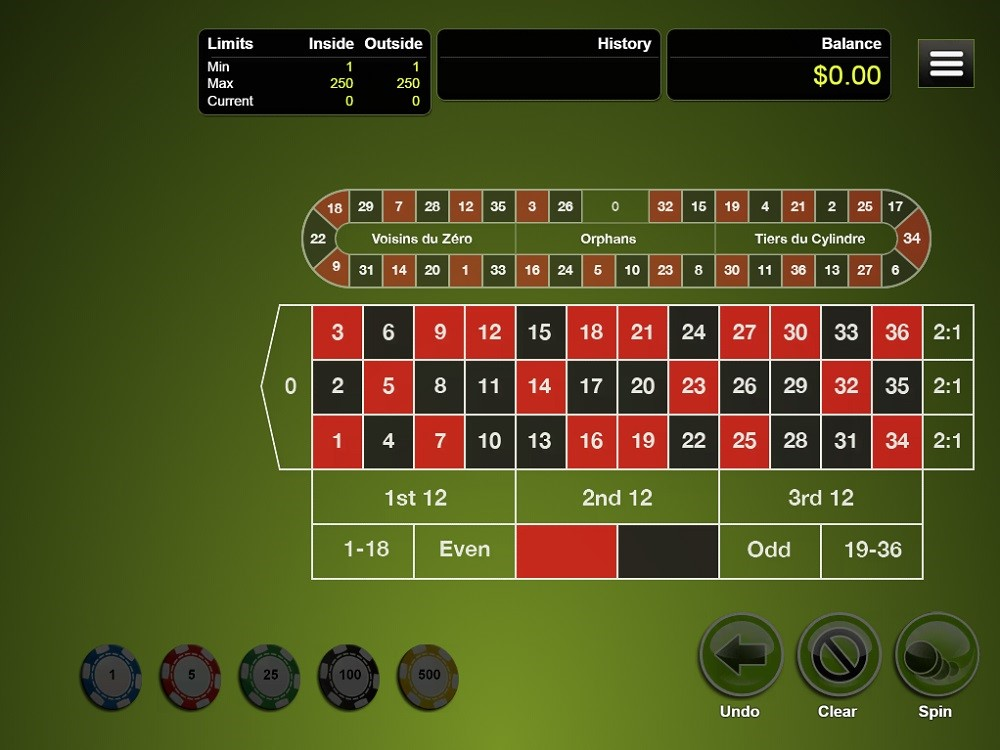 Cherry Gold Casino Automated Roulette