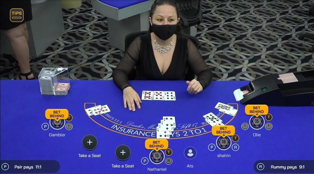 Cherry Gold Casino Live Blackjack