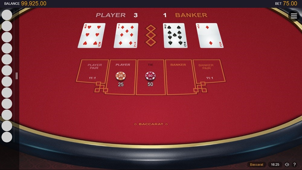 Gaming Club Casino Automated Baccarat