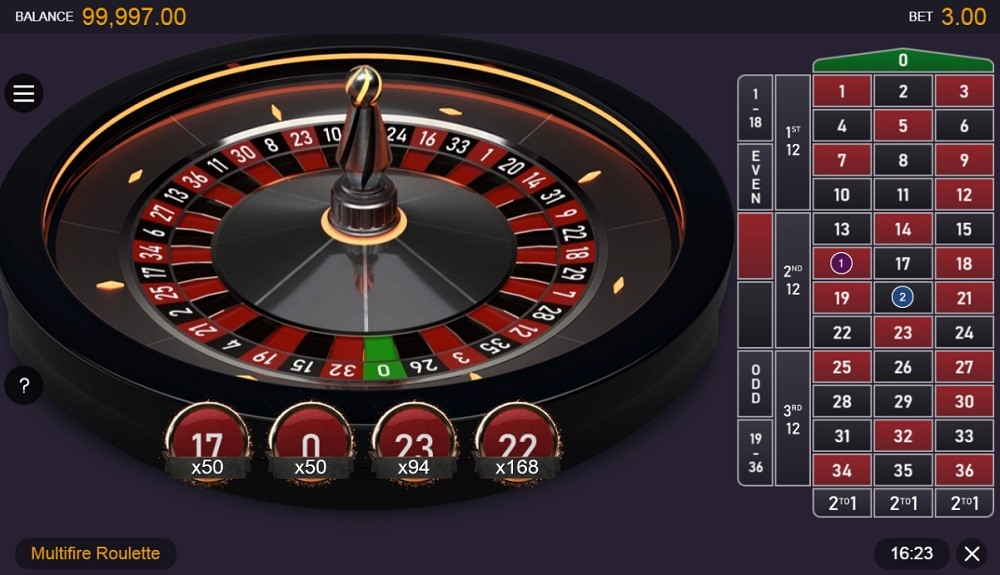 Gaming Club Casino Automated Roulette