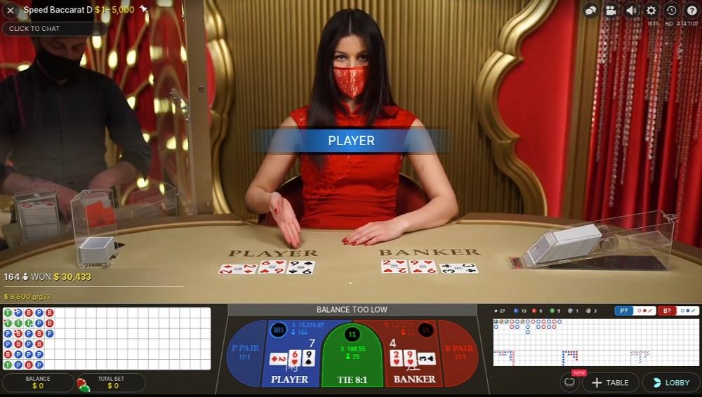 Gaming Club Casino Live Baccarat