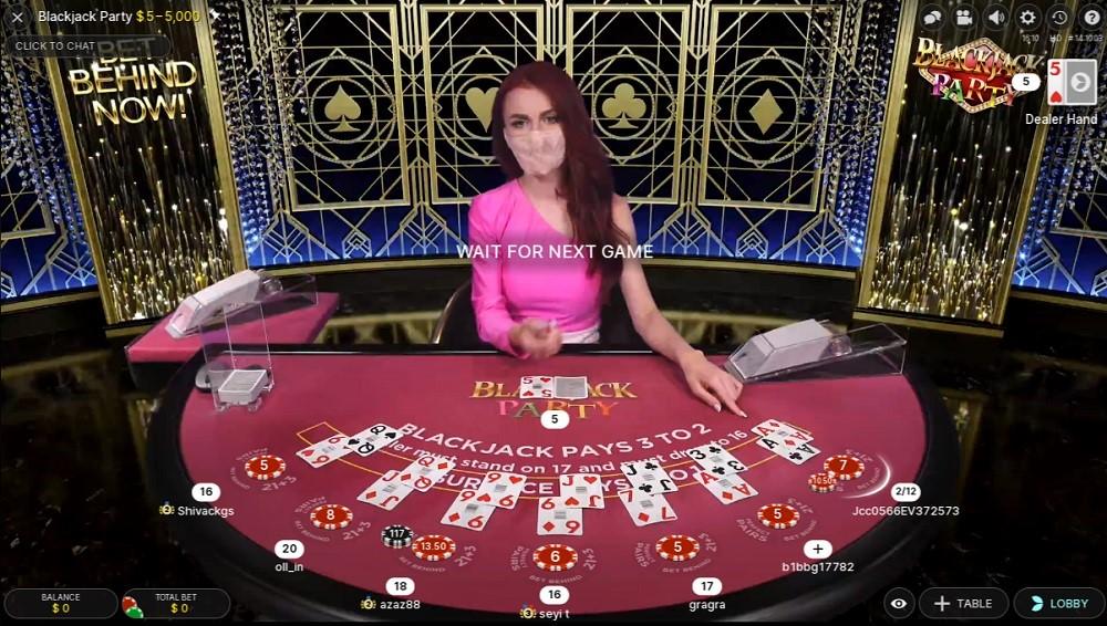 Gaming Club Casino Live Blackjack