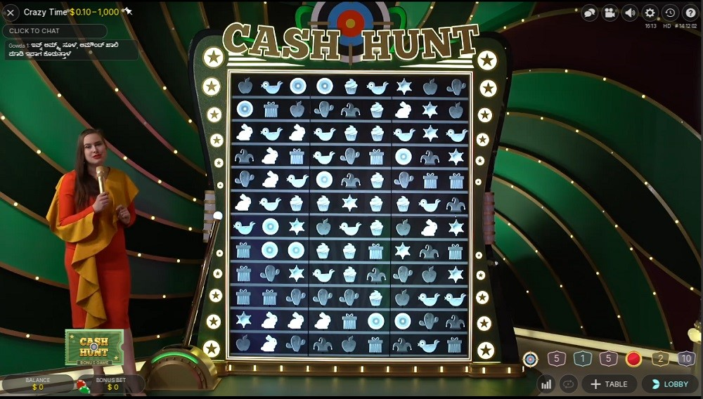 Gaming Club Casino Live Game Show