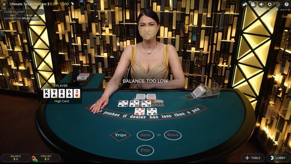 Gaming Club Casino Live Poker