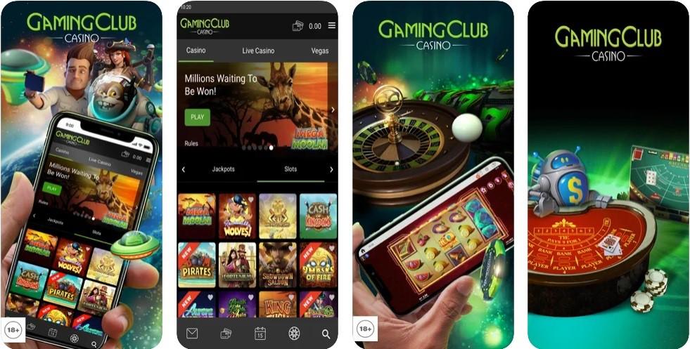 Gaming Club Casino Mobile Play