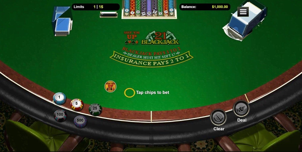 Grand Fortune Casino Automated Blackjack