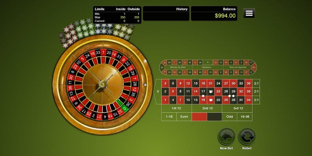Grand Fortune Casino Automated Roulette