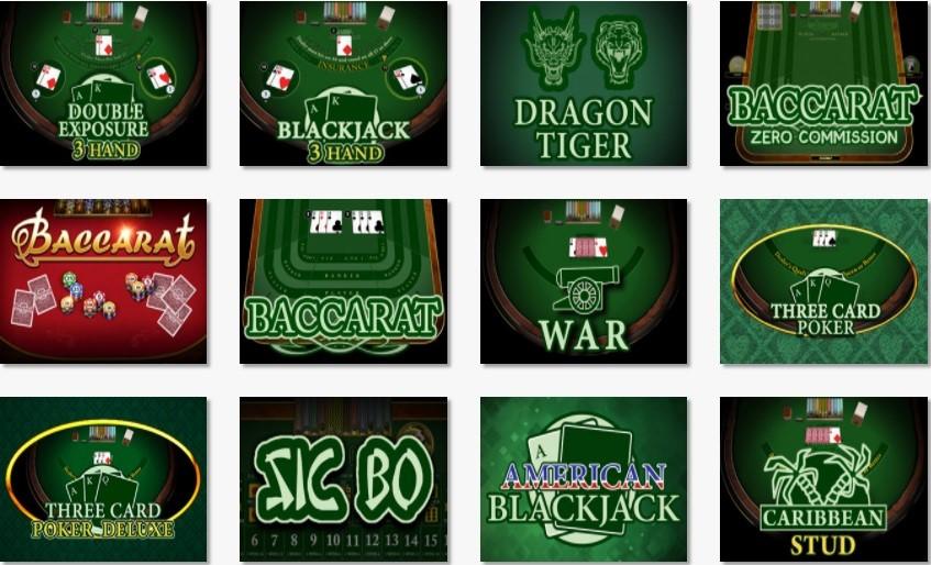 Joker Casino Automated Casino Table Games
