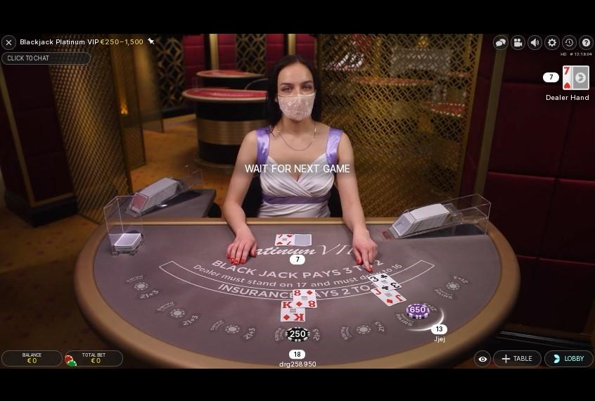 Joker Casino Live Blackjack
