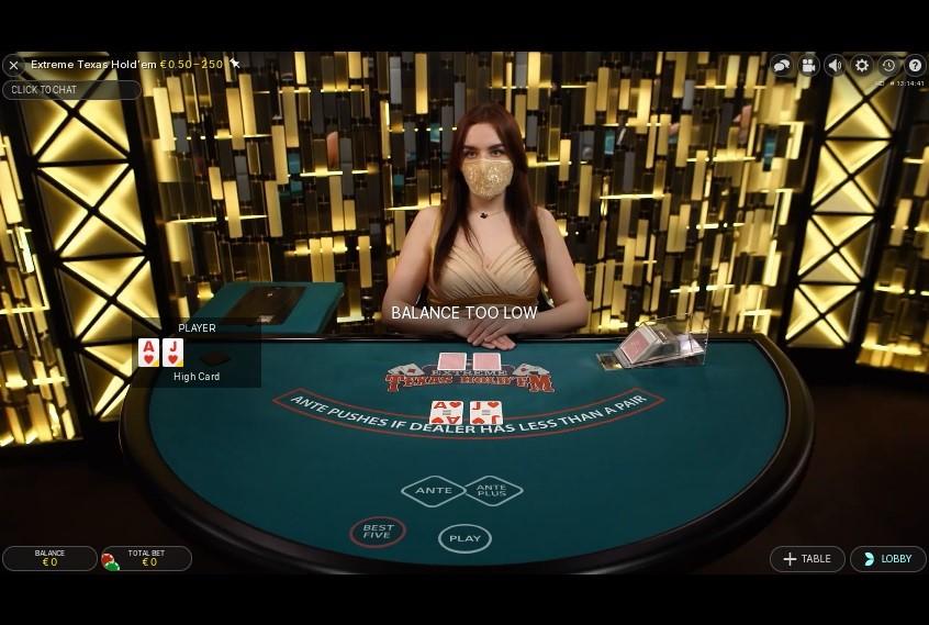 Joker Casino Live Poker