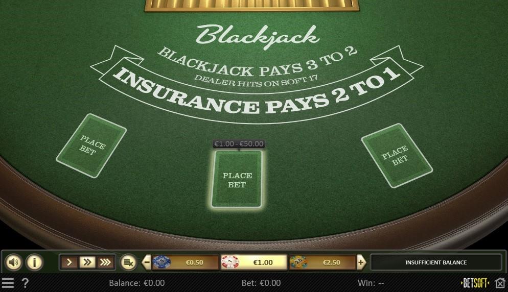 Joo Casino Automated Blackjack