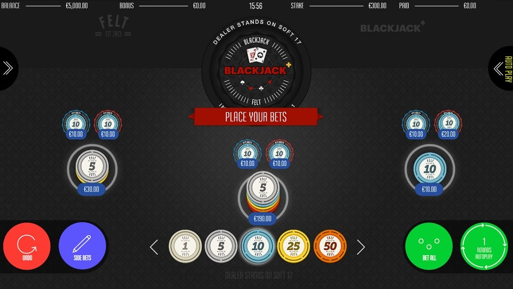 Kassu Casino Automated Blackjack