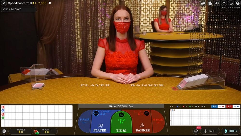 Kassu Casino Live Baccarat