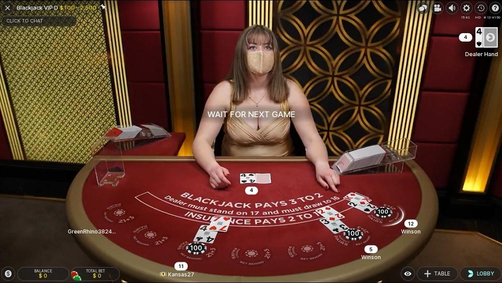 Kassu Casino Live Blackjack