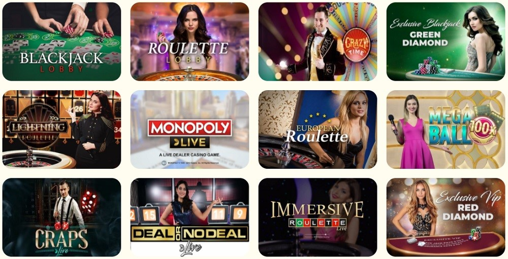 Kassu Casino Live Casino Games