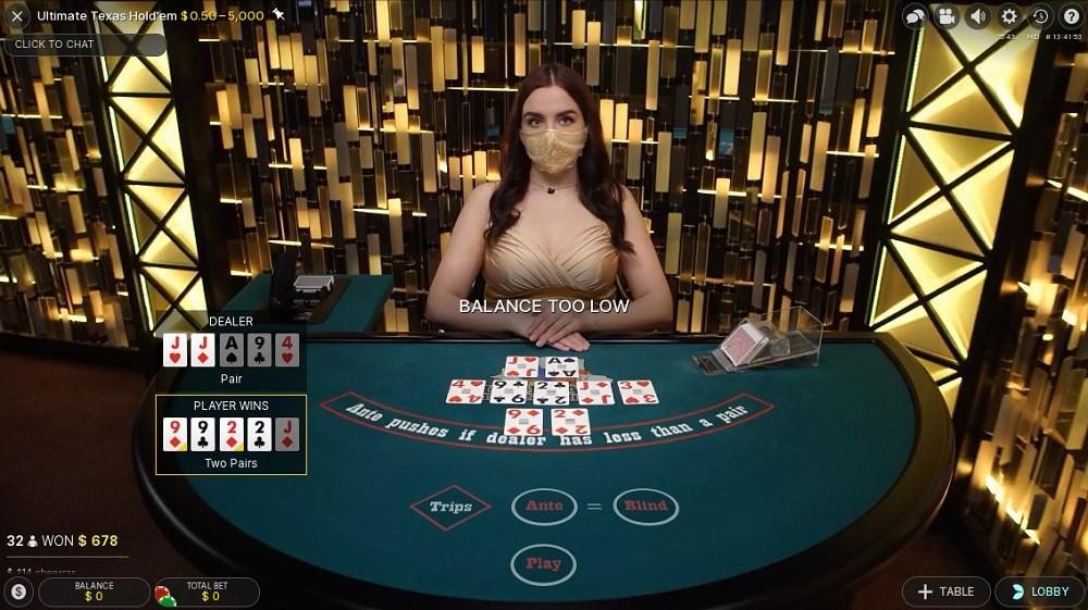 Kassu Casino Live Poker