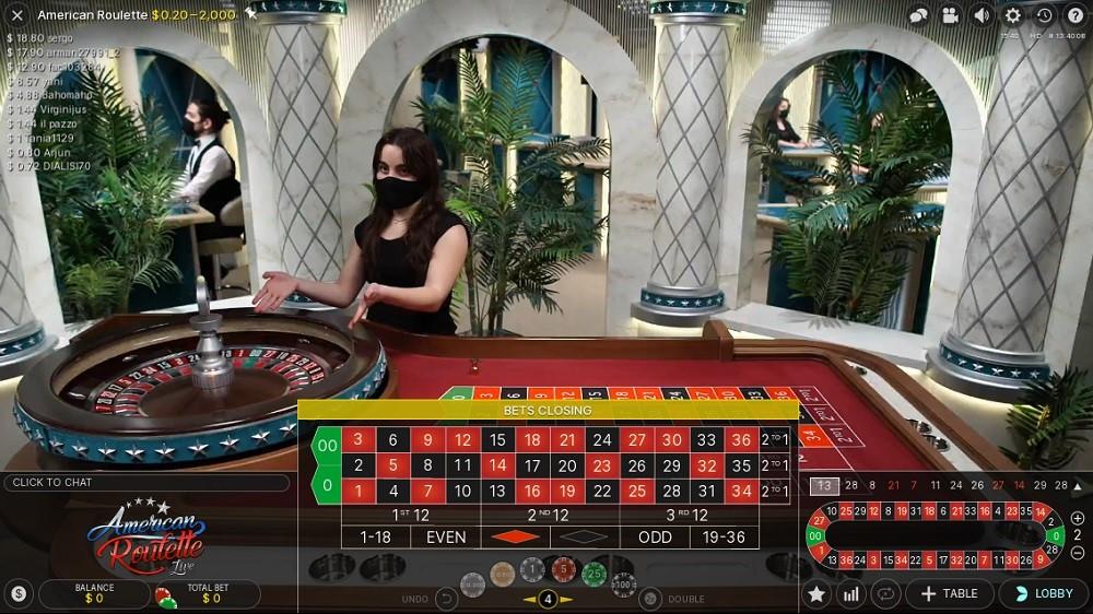 Kassu Casino Live Roulette