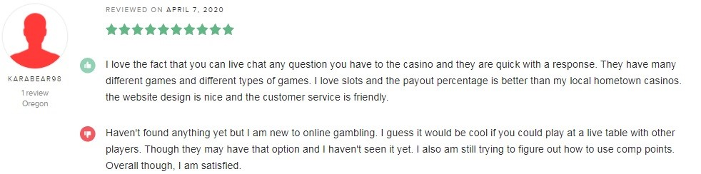Lucky Red Casino Player Review 3