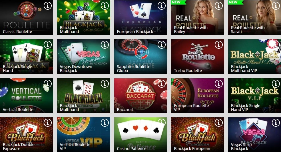 Magic Red Casino Automated Casino Table Games
