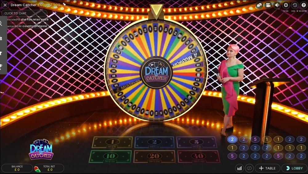 Magic Red Casino Live Game Show