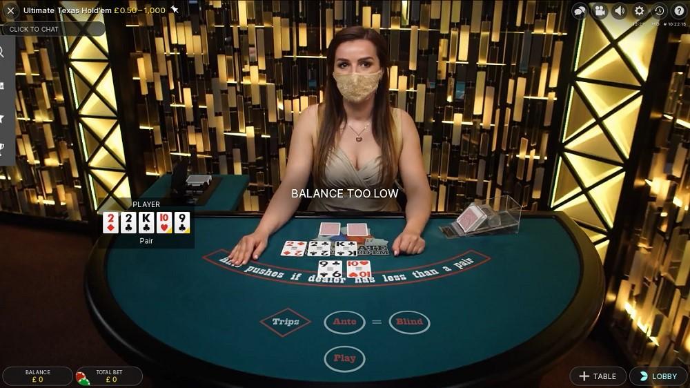Magic Red Casino Live Poker