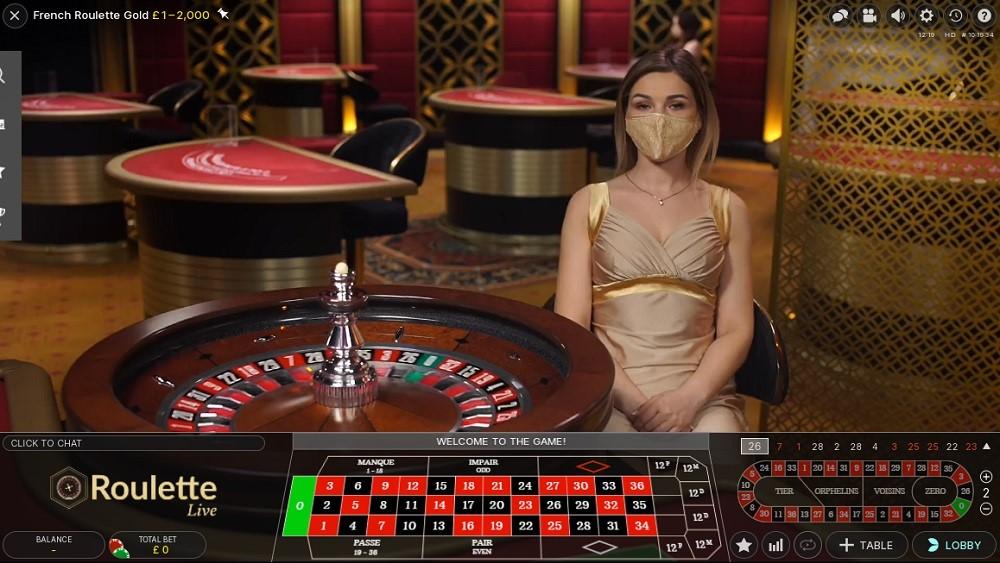 Magic Red Casino Live Roulette