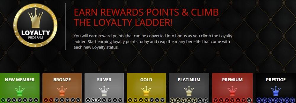 Magic Red Casino Rewards Program