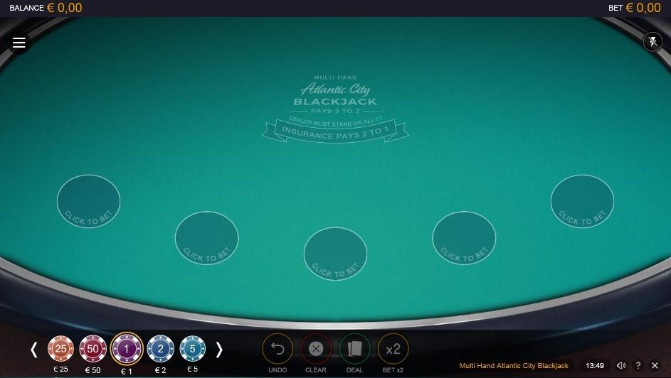 Novibet Casino Automated Blackjack