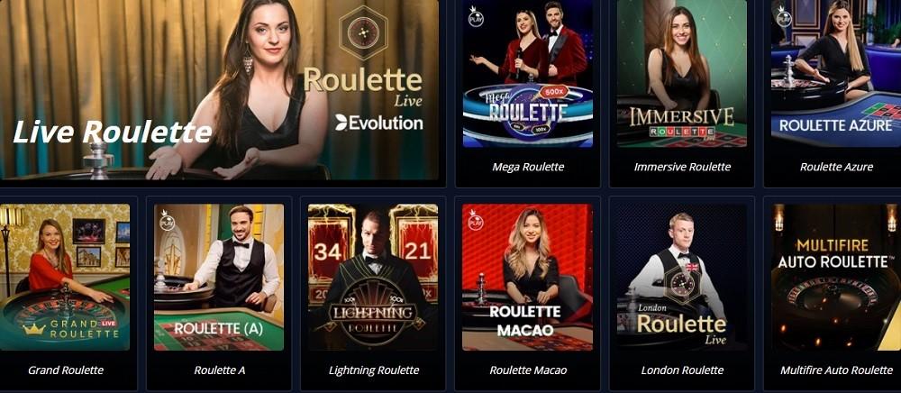 Novibet Casino Live Casino Games