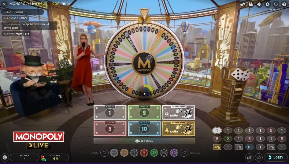 Novibet Casino Live Game Show