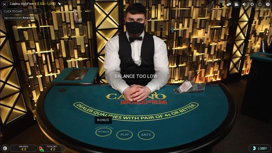 Novibet Casino Live Poker