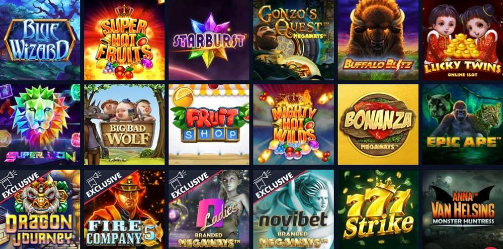Novibet Casino Slots