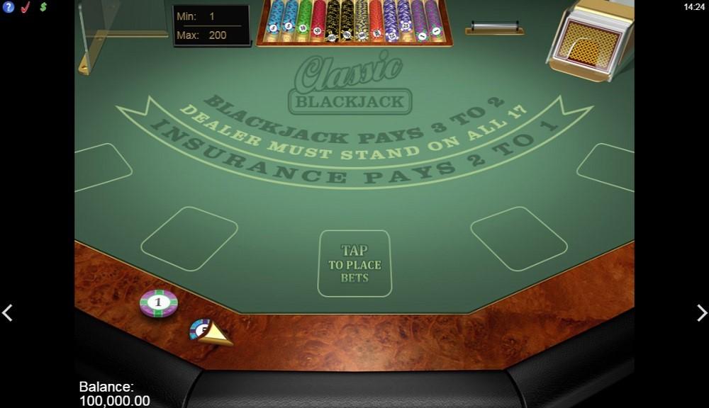 Paf Casino Automated Blackjack