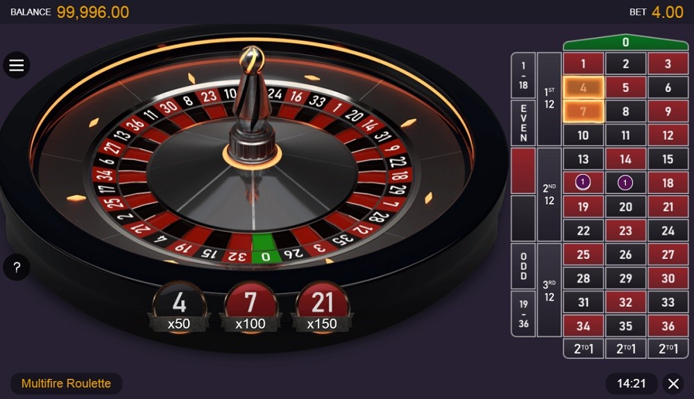 Paf Casino Automated Roulette
