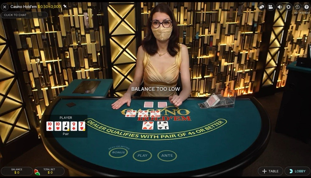 Paf Casino Live Poker