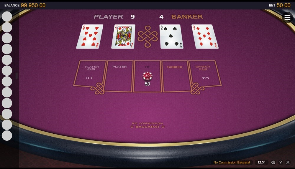 Platinum Play Automated Baccarat
