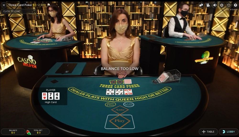 Platinum Play Live Poker