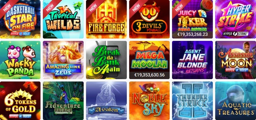 Platinum Play Slots