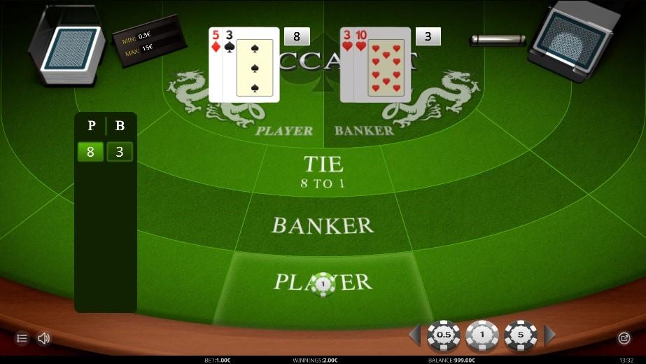 Playamo Casino Automated Baccarat