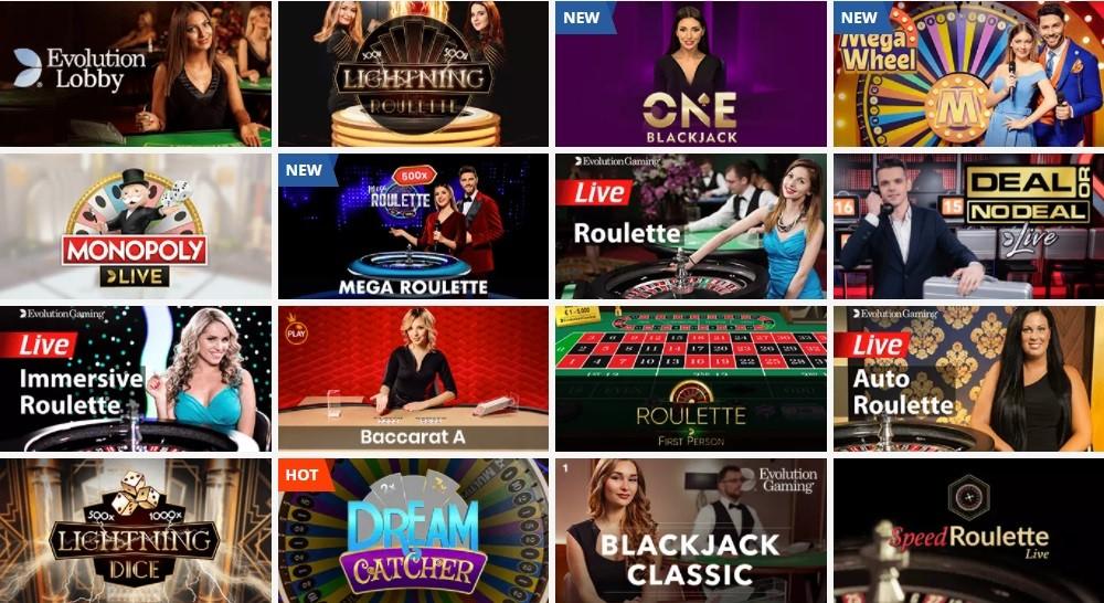 Playamo Casino Live Casino Games